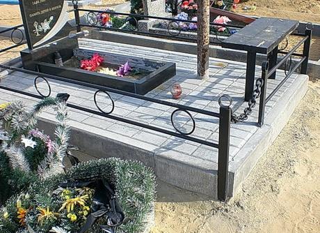 Как благоустроить могилу на кладбище своими руками